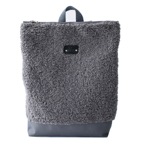 "Large faux fur ""Grey"""