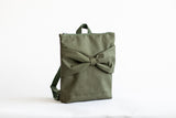 "Moss green ""Bow"" for kids L"