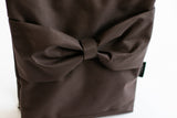 "Brown ""Bow"" for kids L"