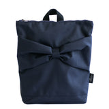 "Navy blue ""Bow"" for kids L"