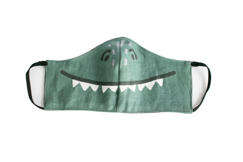 DINOSAUR MASK, woman/teenager size