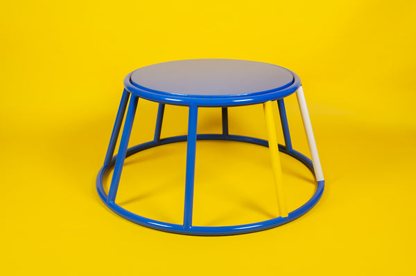 ReLive May81 || Relacquered Elephant Stand Coffee Table