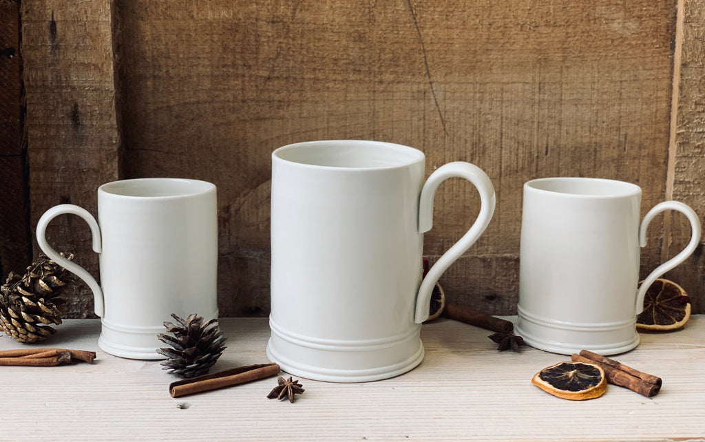 Tankard and mugs