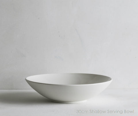 Shallow Serving Bowls