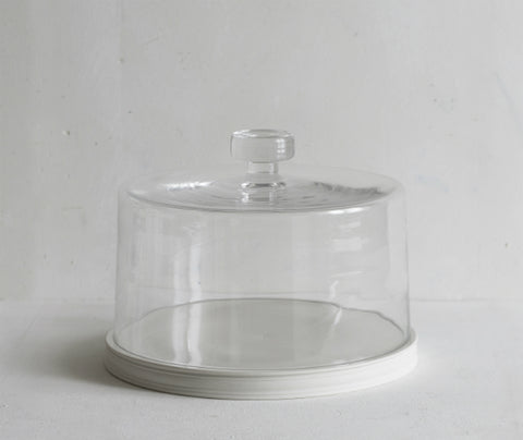 Classical Platform, 28cm with Glass Dome