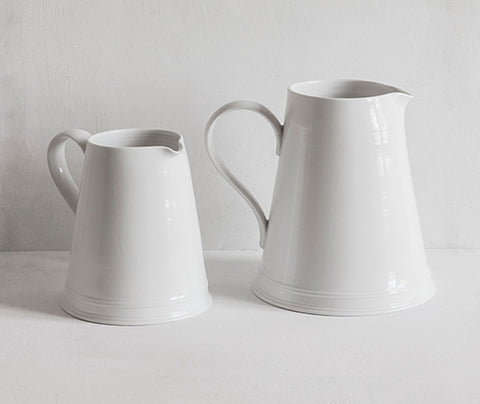 Dairy Jugs in two different sizes