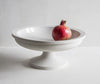 Porcelain fruit stand with pomegranate