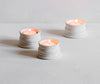 Classical Tea Light Holders, Pair, 6cm