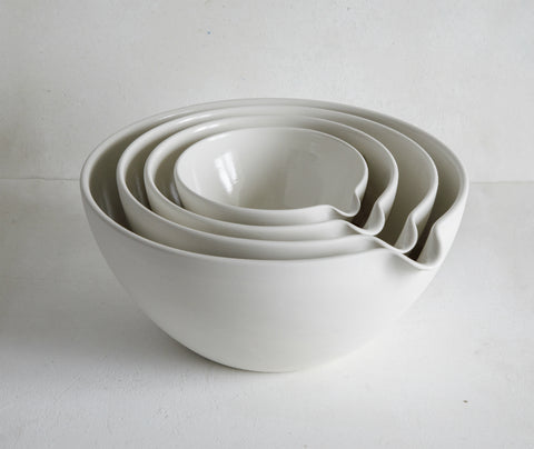 Set of 4 Mixing Pouring Bowls