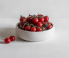 Medium nesting bowl with tomatoes