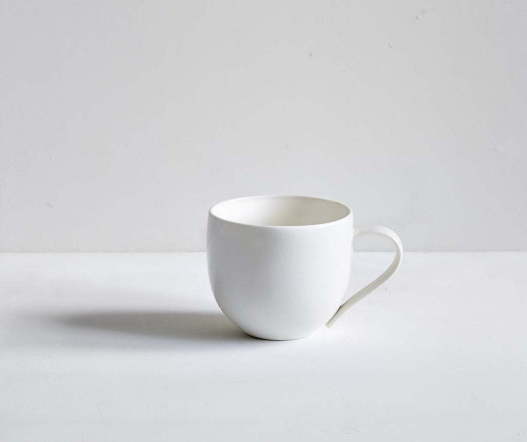 Handmade Porcelain Simple Mug - Seconds