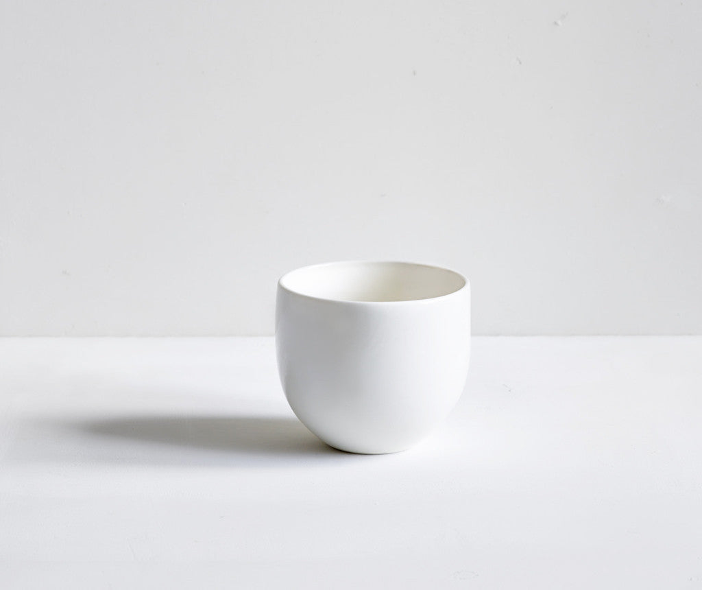 Handmade Simple Porcelain Beaker