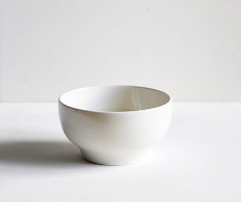 Plain Porcelain Simple Bowl