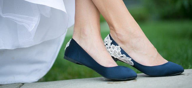 Blue Ballet Flats & Ballerina Shoes
