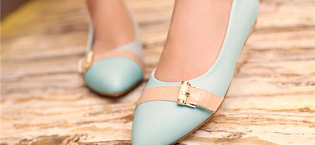 Buckles Ballet Flats & Ballerina Shoes