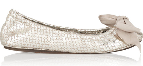 Champagne Ballet Flats & Ballerina Shoes
