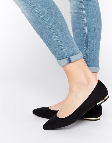 How to wear ballet flats shoes