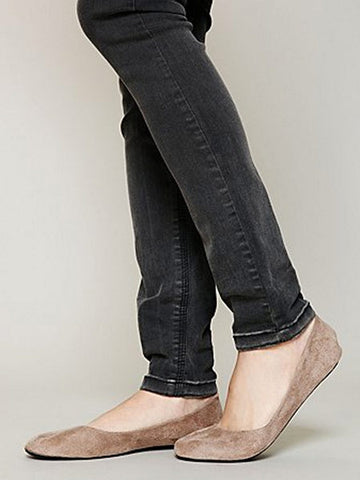 taupe flats shoes