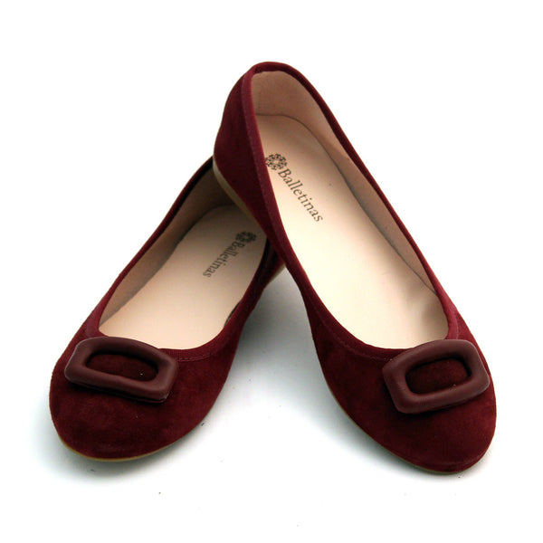 Arsen Burgundy Suede