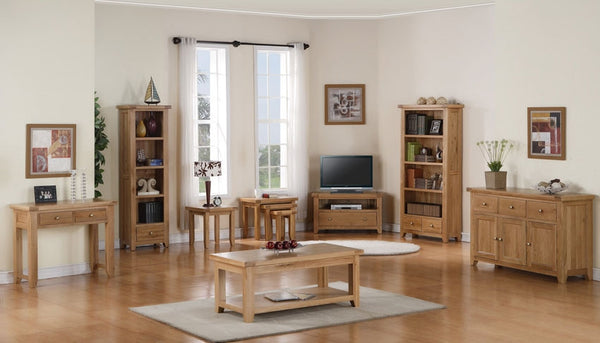 Dallington - Oak Corner TV Cabinet