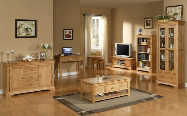 Manoir - Widescreen Oak TV Cabinet