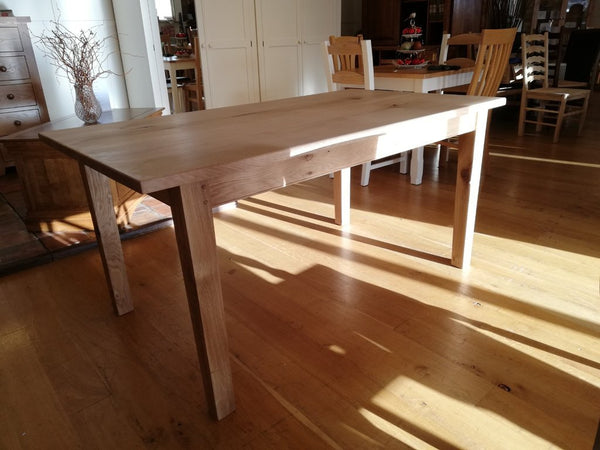 Fine Oak farmhouse Table 160 x 90 cm