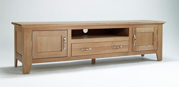 Oak Widescreen TV Cabinet