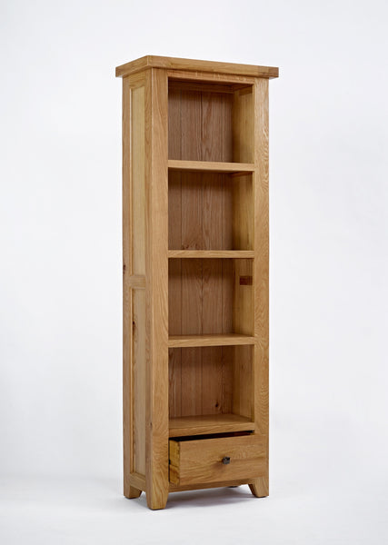 Dallington - Slim Oak Bookcase