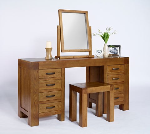 Oak Dressing Table/Desk