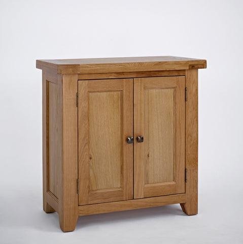 Dallington - 2 Door Oak Hall Cupboard