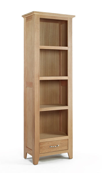 Slim Oak Bookcase