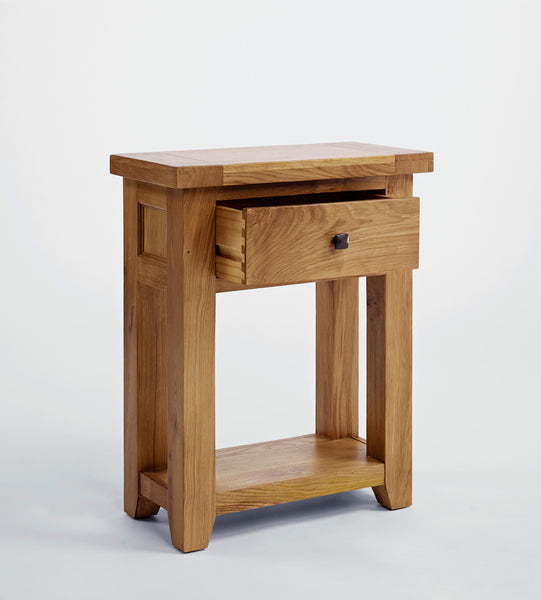 Dallington - Small Oak Console Table
