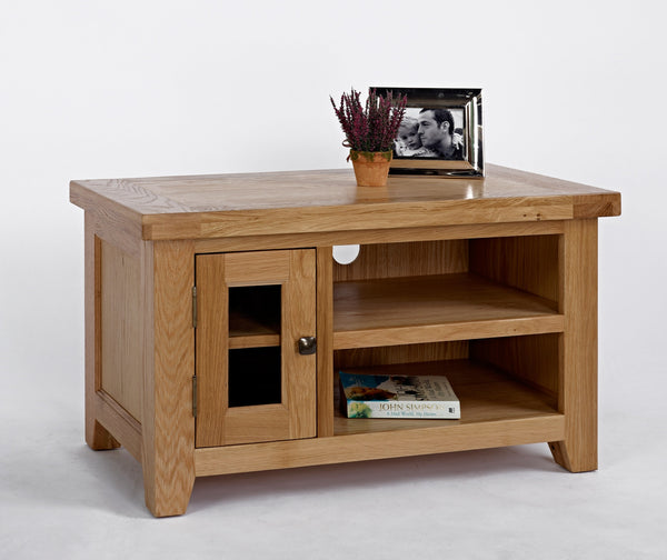 Small Oak TV Cabinet