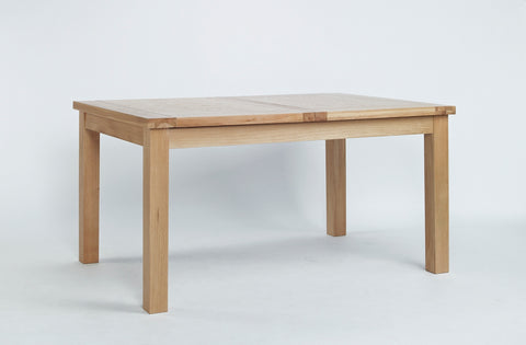 Staplecross - Central Extending Oak Dining Table