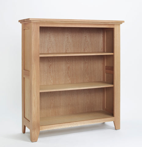 Oak Low Bookcase