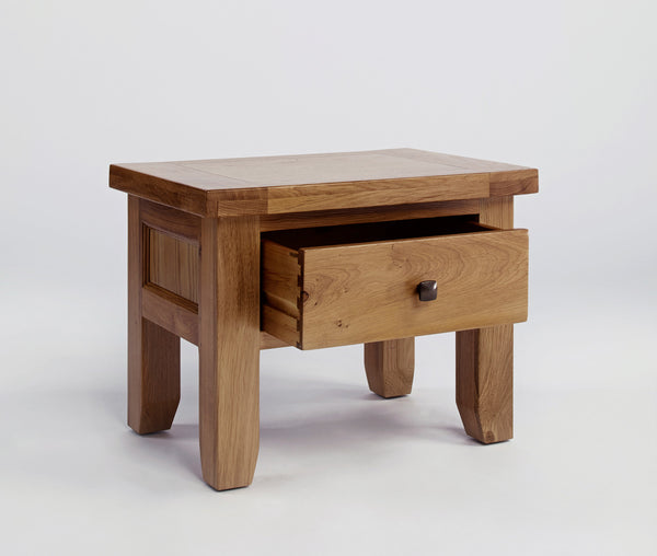 Dallington - 1 Drawer Oak Lamp Table