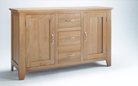 Oak Sideboard 2 doors 3 drawers