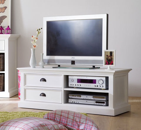 White Painted TV cabinet