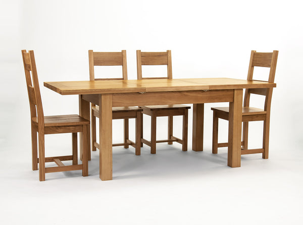 Dallington - Centrally Extending Dining Table