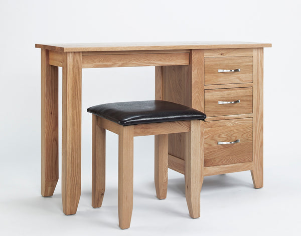 Oak dressing Table Stool