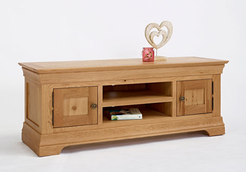 Widescreen Oak TV Cabinet