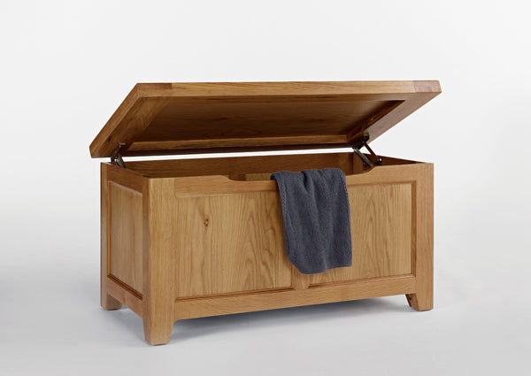 Dallington - Oak Blanket Box