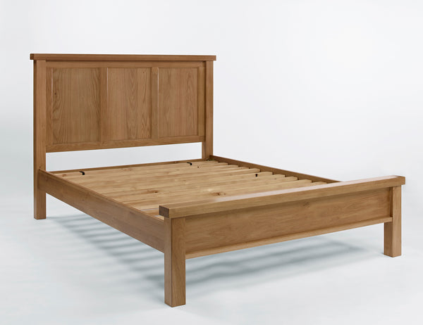 Double Oak Bed
