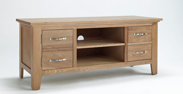 Oak TV Cabinet with storage