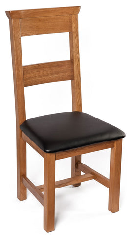 Oak Dining Chair Upholstered