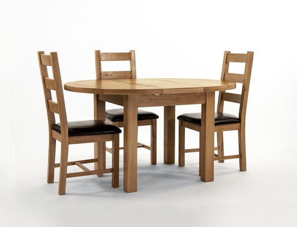Dallington - Round Extending Dining Table