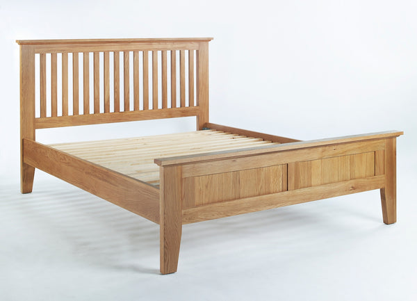 Oak King size bed