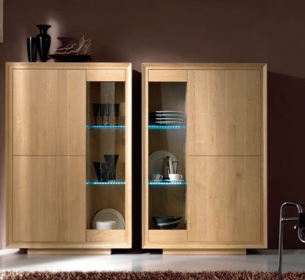 Tuscany Contemporary Sienna Display Cabinet