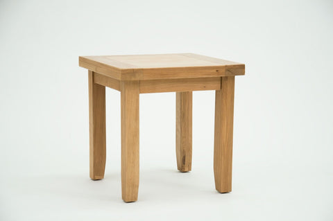 Oak Lamp table