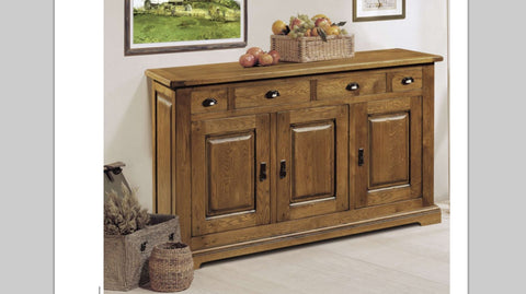 Tuscany - 3 Door 4 Drawer Sideboard